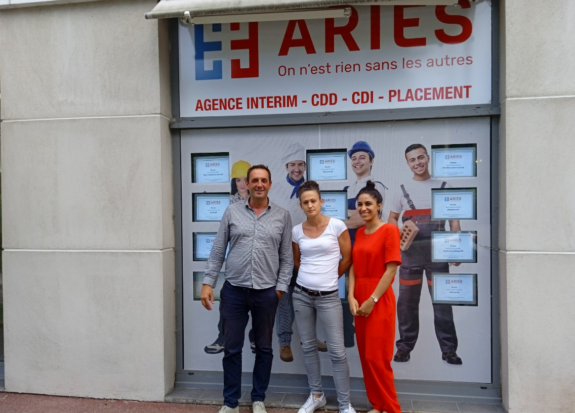 Aries interim Antibes - équipe