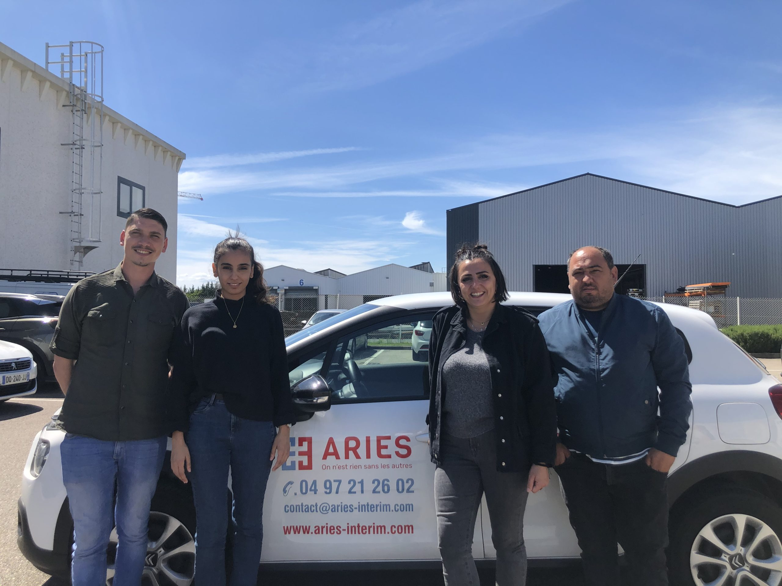 Aries interim Lyon - équipe