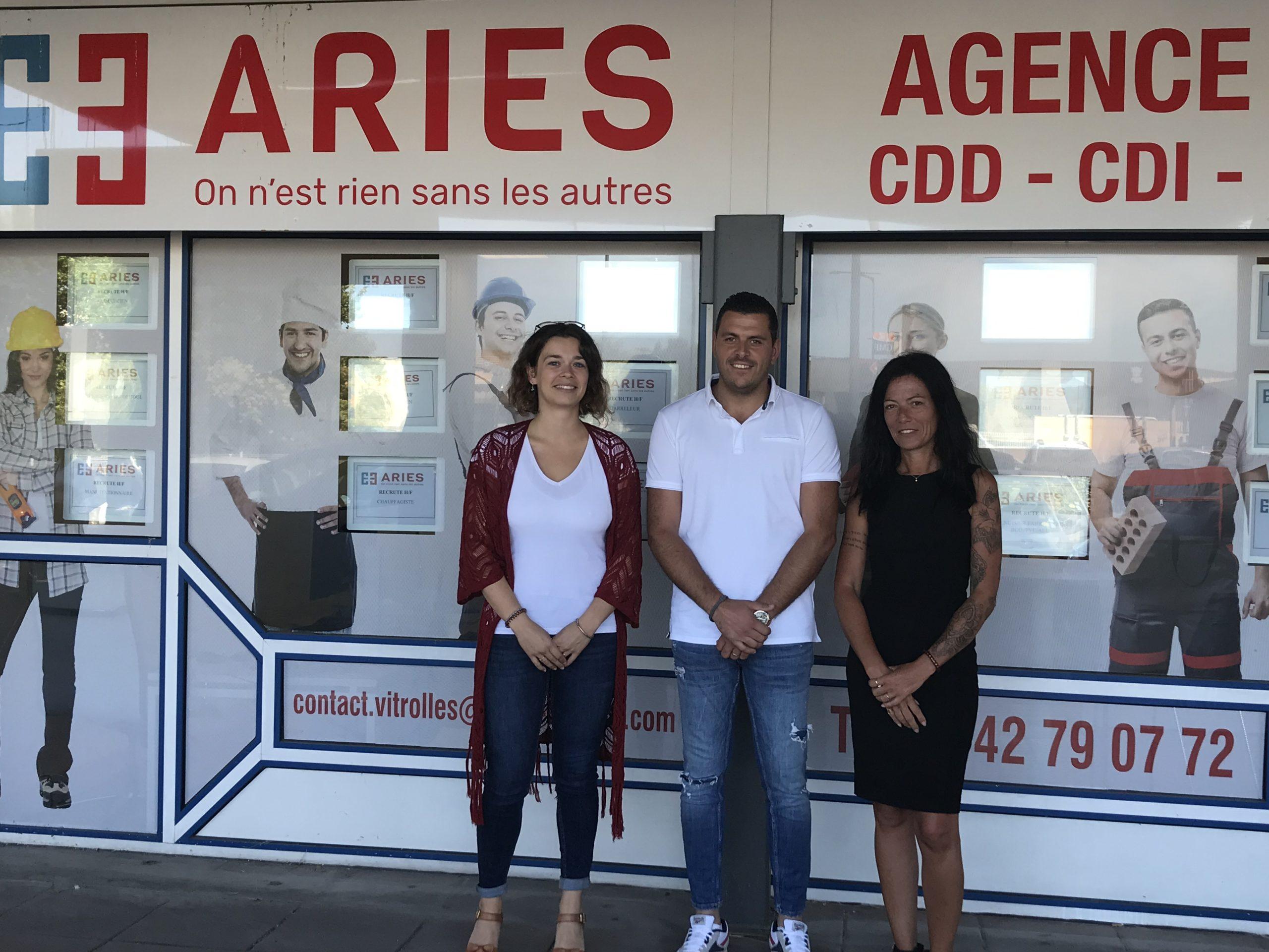 Aries intérim Vitrolles - équipes